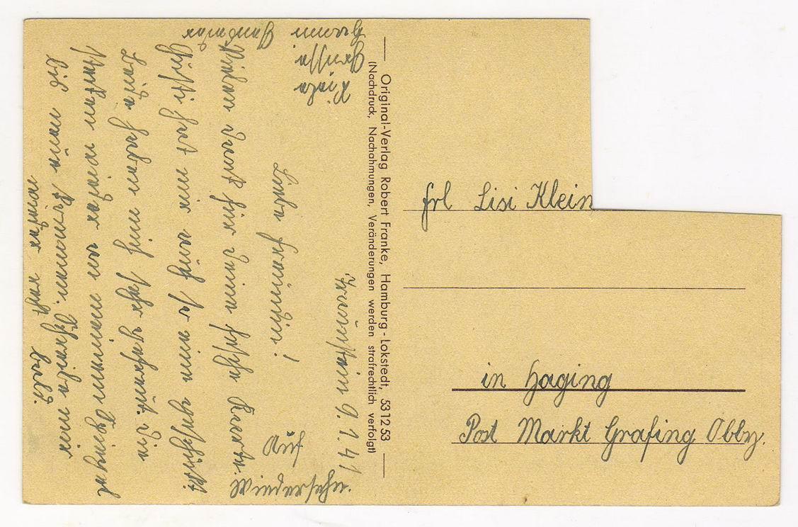Почтовая открытка на немецком, марта открытки картинки